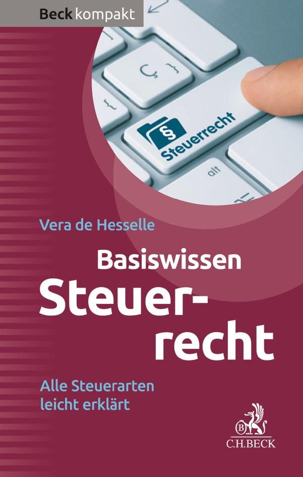 Basiswissen Steuerrecht   de Hesselle, 2017   Buch (Cover)