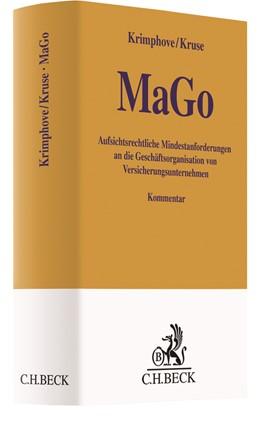 Abbildung von Krimphove / Kruse   Aufsichtsrechtliche Mindestanforderungen an die Geschäftsorganisation von Versicherungsunternehmen: MaGo   1. Auflage   2018   beck-shop.de