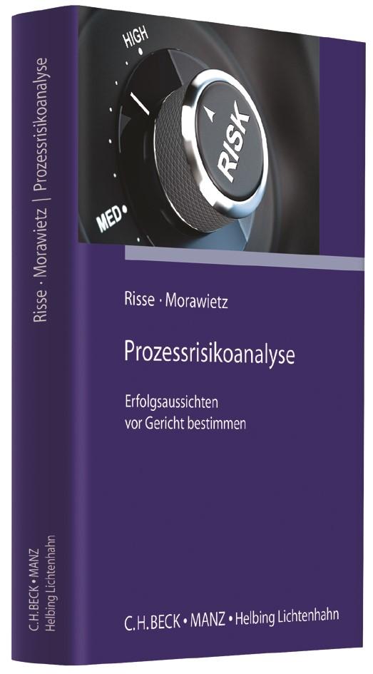 Prozessrisikoanalyse | Risse / Morawietz, 2017 | Buch (Cover)