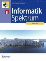 Informatik-Spektrum | 40. Jahrgang (Cover)