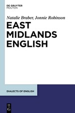 East Midlands English | Braber / Robinson, 2017 | Buch (Cover)