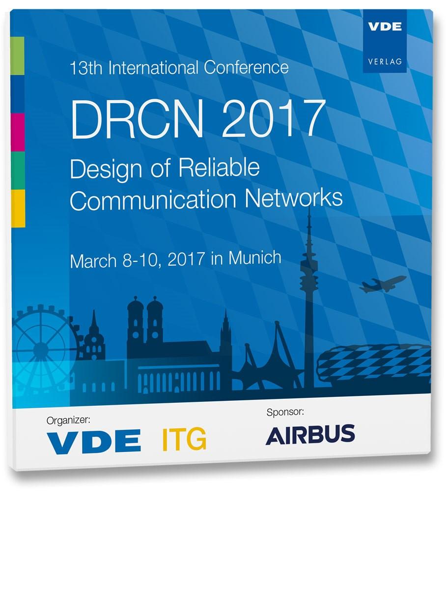 13th International Conference DRCN 2017   Neuerscheinung, 2017 (Cover)