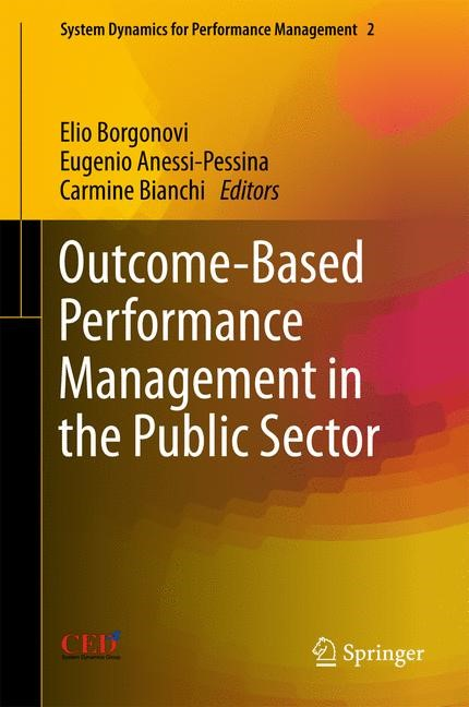 Outcome-Based Performance Management in the Public Sector | Borgonovi / Pessina / Bianchi, 2017 | Buch (Cover)