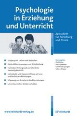 Psychologie in Erziehung und Unterricht (Cover)