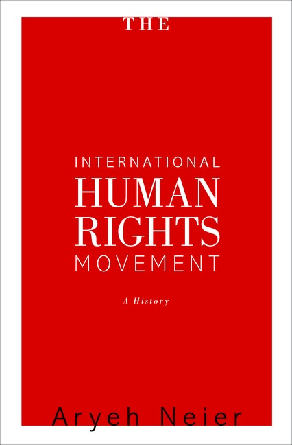 Abbildung von Neier | International Human Rights Movement | 2012