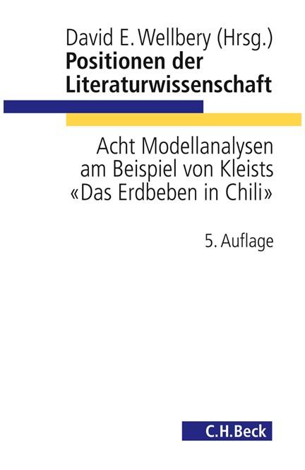 Cover: , Positionen der Literaturwissenschaft