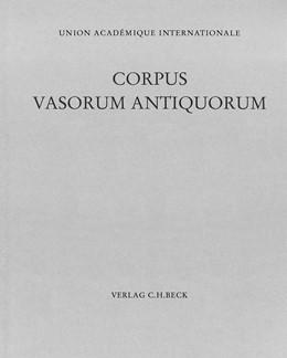 Abbildung von Burow, Johannes | Corpus Vasorum Antiquorum Bd. 54: Tübingen V | 1986 | Antikensammlung des Archäologi... | Band 54