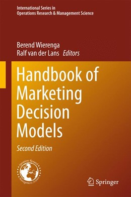 Abbildung von Wierenga / van der Lans | Handbook of Marketing Decision Models | 2nd ed. 2017 | 2017 | 254