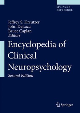 Abbildung von Kreutzer / DeLuca / Caplan | Encyclopedia of Clinical Neuropsychology | 2nd ed. 2018 | 2018