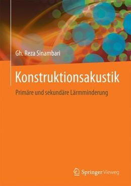 Abbildung von Sinambari | Konstruktionsakustik | 1. Auflage | 2017 | beck-shop.de