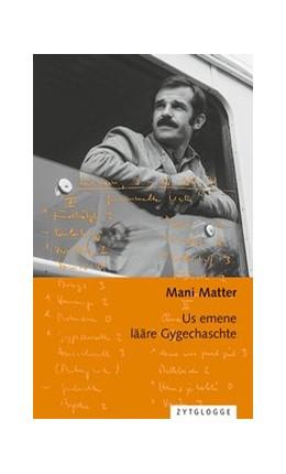 Abbildung von Matter | Us emene lääre Gygechaschte | 3., erweiterte Auflage | 2017 | Berndeutsche Chansons Band 1