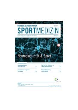 Abbildung von Deutsche Zeitschrift für Sportmedizin | 1. Auflage | 2019 | beck-shop.de