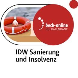 Abbildung von IDW Sanierung und Insolvenz | 1. Auflage | | beck-shop.de