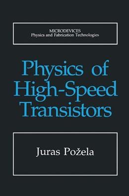 Abbildung von Pozela | Physics of High-Speed Transistors | 1993