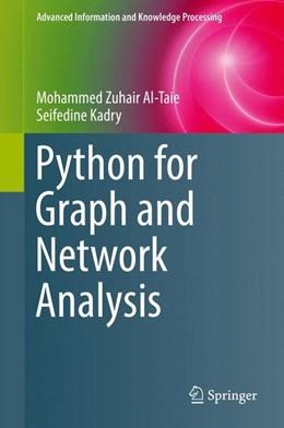 Abbildung von Al-Taie / Kadry   Python for Graph and Network Analysis   1. Auflage   2017   beck-shop.de