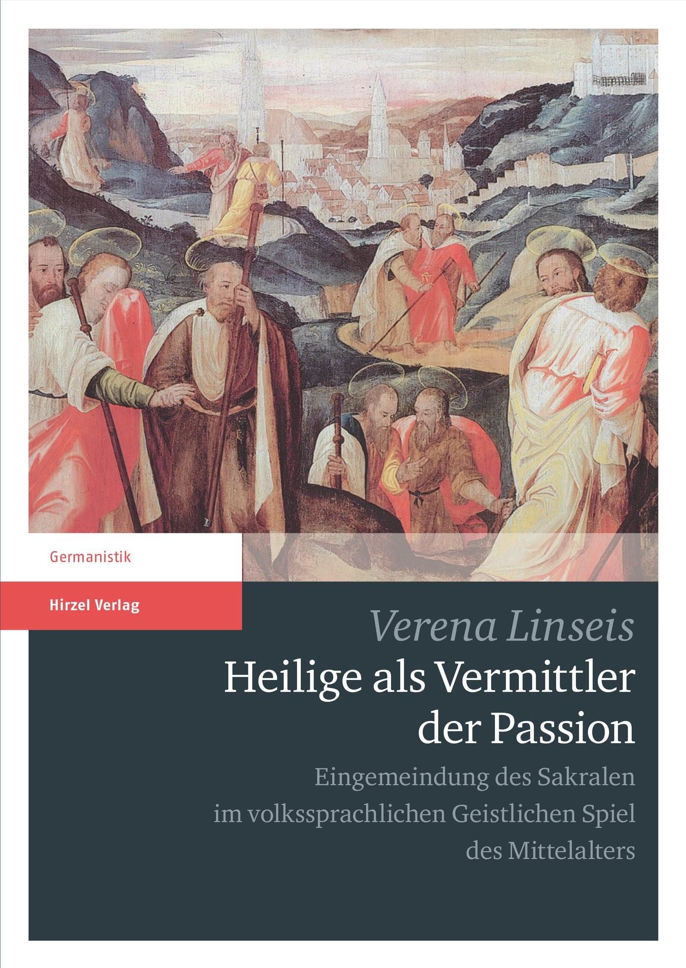 Heilige als Vermittler der Passion | Linseis, 2017 | Buch (Cover)