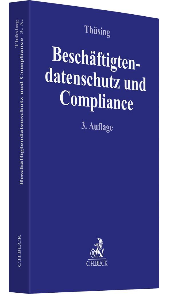 Beschäftigtendatenschutz und Compliance | Thüsing | 3. Auflage, 2019 | Buch (Cover)