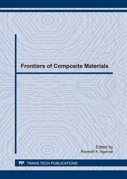 Abbildung von Agarwal   Frontiers of Composite Materials   1. Auflage   2017   Volume 894   beck-shop.de