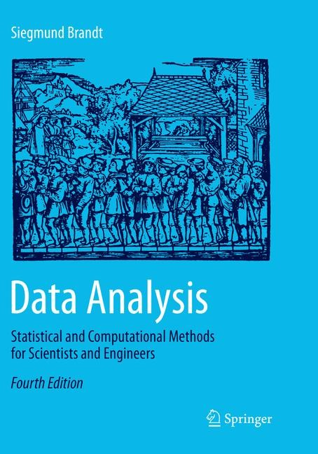 Data Analysis | Brandt | Softcover reprint of the original 4th ed. 2014, 2017 | Buch (Cover)