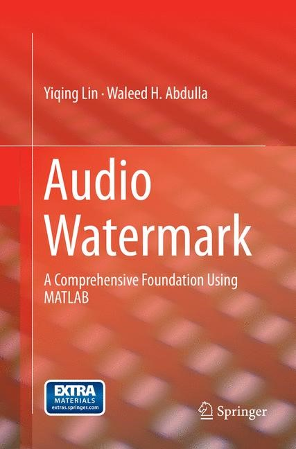 Audio Watermark | Lin / Abdulla | Softcover reprint of the original 1st ed. 2015, 2017 | Buch (Cover)