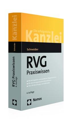 Abbildung von Schneider   RVG Praxiswissen   4. Auflage   2017