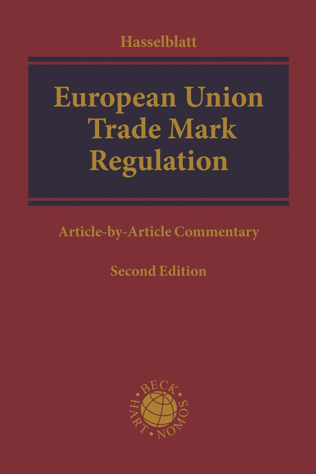 Abbildung von Hasselblatt | European Union Trade Mark Regulation | 2. Auflage | 2018