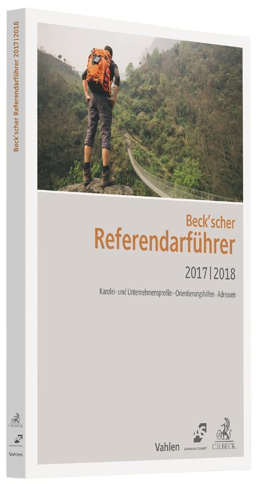 Beck'scher Referendarführer 2017/2018, 2017 | Buch (Cover)