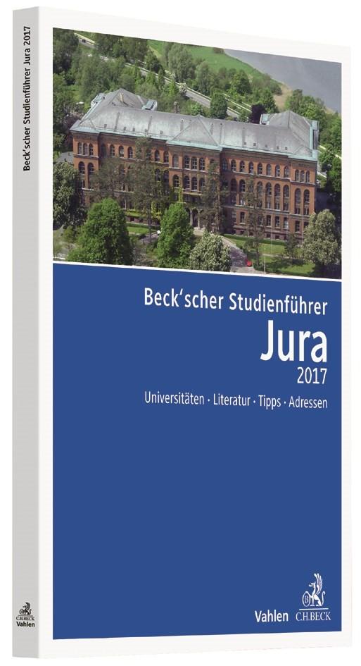Beck'scher Studienführer Jura 2017   Buch (Cover)