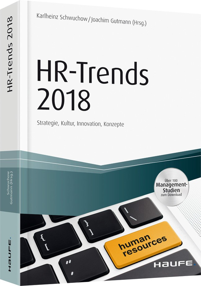 HR-Trends 2018 | Schwuchow / Gutmann (Hrsg.), 2017 (Cover)