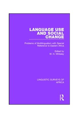 Abbildung von Whiteley | Language Use and Social Change | 2017 | Problems of Multilingualism wi... | 22