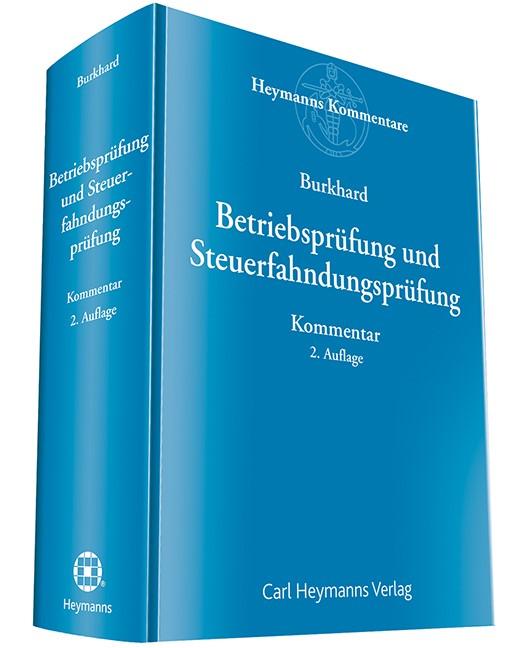 Betriebsprüfung und Steuerfahndung | Burkhard | 2. Auflage, 2018 | Buch (Cover)