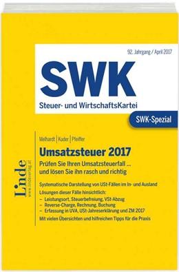 Abbildung von Melhardt / Kuder / Pfeiffer   SWK-Spezial Umsatzsteuer 2017   1. Auflage 2017   2017