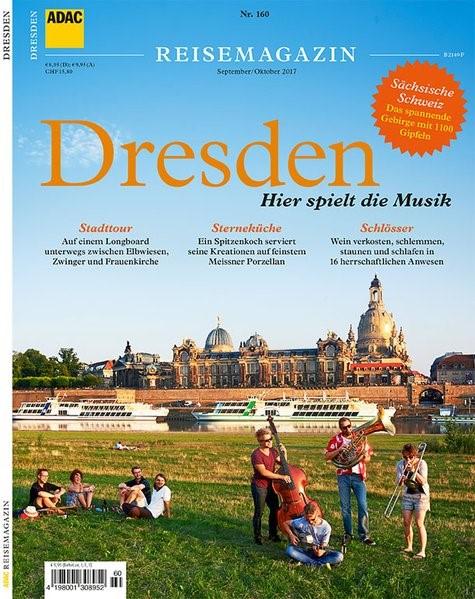 ADAC Reisemagazin Dresden | ADAC Verlag GmbH & Co KG | 2017, 2017 | Buch (Cover)