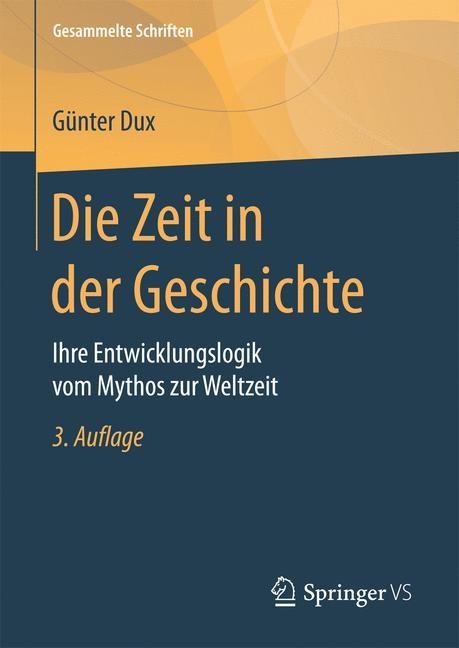 Die Zeit in der Geschichte   Dux   3. Aufl. 2017, 2017   Buch (Cover)