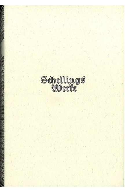 Cover: , Schelling Werke  5. Hauptband: Schriften zur geschichtlichen Philosophie (1821-1854)