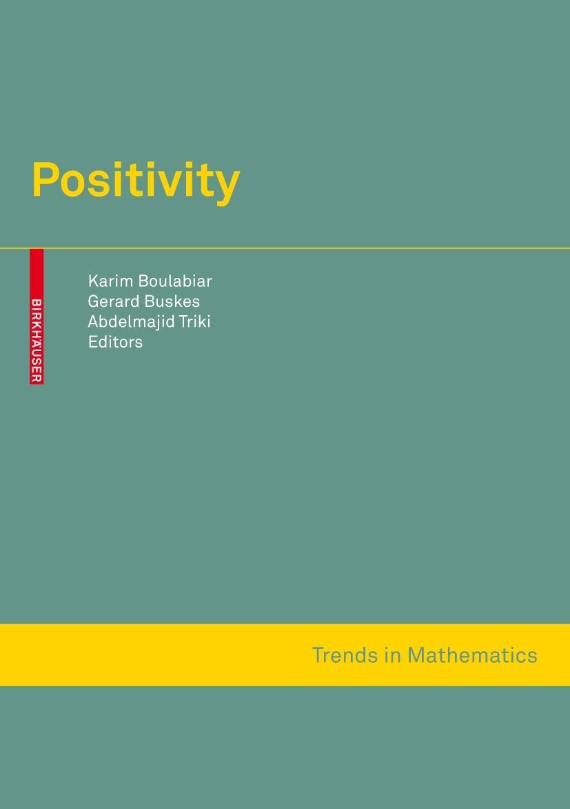 Positivity | Boulabiar / Buskes / Triki, 2007 | Buch (Cover)