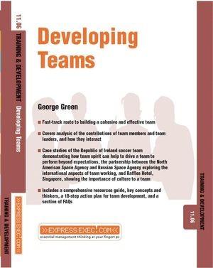 Abbildung von Green | Developing Teams | 2003