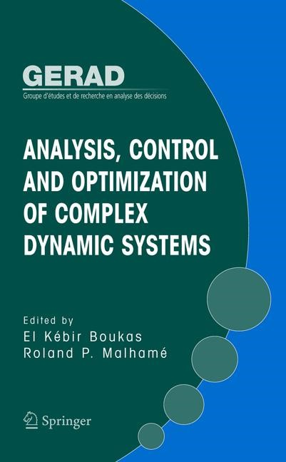 Analysis, Control and Optimization of Complex Dynamic Systems | Boukas / Malhamé, 2005 | Buch (Cover)