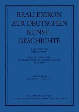 Abbildung von Reallexikon Dt. Kunstgeschichte 106. Lieferung: Fleuronne - Flocktapete | 1. Auflage | 1997 | beck-shop.de