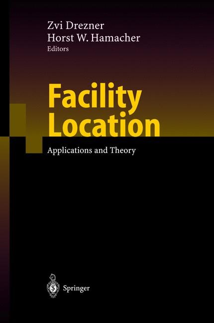 Facility Location | Drezner / Hamacher | 1st ed. 2001. 2nd printing, 2004 | Buch (Cover)