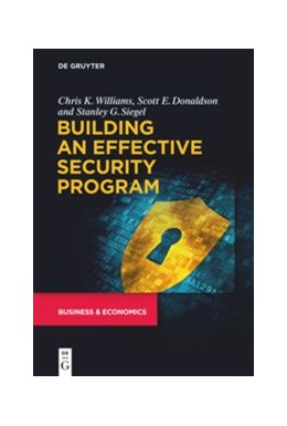 Abbildung von Williams / Donaldson / Siegel | Building an Effective Security Program | 2020