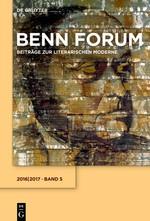 Benn Forum   Dyck / Korte / Schmidt, 2017   Buch (Cover)
