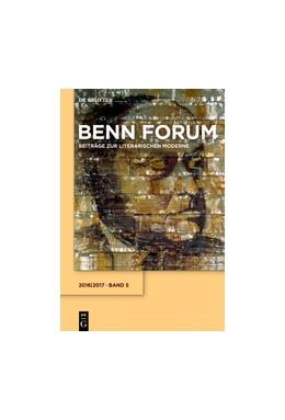Abbildung von Dyck / Korte / Schmidt | Benn Forum | 2017 | Band 5. 2016/2017