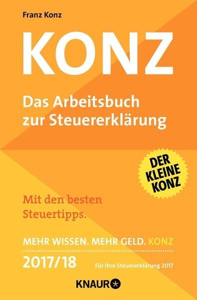 Konz 2017/18, 2017 | Buch (Cover)