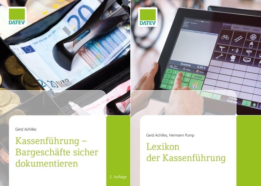 Abbildung von Achilles / Pump   Buchpaket Fachbuch und Lexikon Kassenführung   2019