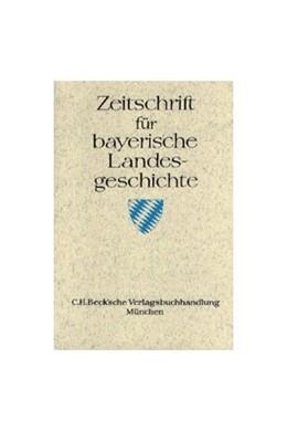 Abbildung von Zeitschrift für bayerische Landesgeschichte Band 80 Heft 3/2017 | 2018 | Bayerischer Rundfunk