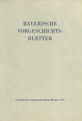 Bayerische Vorgeschichtsblätter 2017, 2017 | Buch (Cover)
