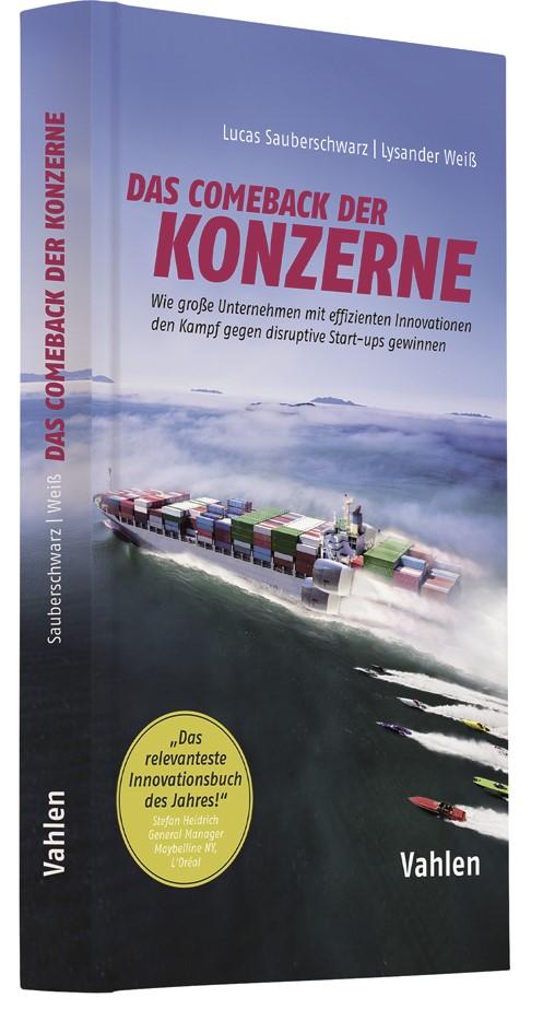 Das Comeback der Konzerne | Sauberschwarz / Weiß, 2018 | Buch (Cover)