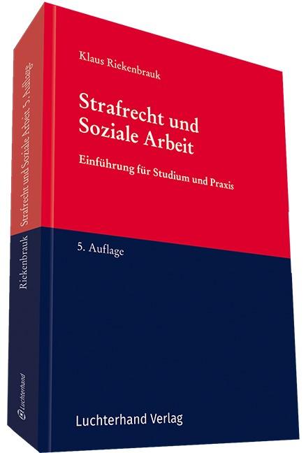 Strafrecht und Soziale Arbeit | Riekenbrauk | 5. Auflage., 2017 | Buch (Cover)