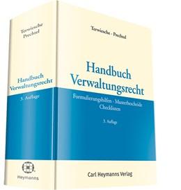 Abbildung von Terwiesche / Prechtel (Hrsg.) | Handbuch Verwaltungsrecht | 3. Auflage | 2018